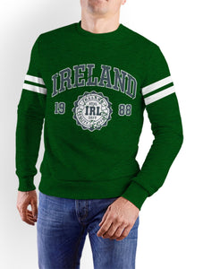 IRELAND APPAREL 88 Men Sweat Shirts Cara Craft XS Bottle Green