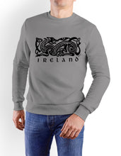 Load image into Gallery viewer, IRELAND CELTIC DOG V2 Mens T-Shirts Cara Craft S GREY