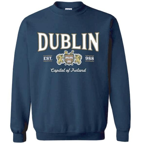 DUBLIN CAPITAL, Men Sweat Shirts - seasonsofireland