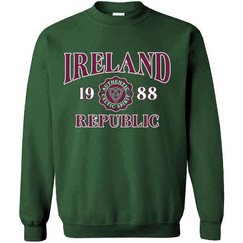 IRELAND CELTIC SPIRIT, Men Sweat Shirts - seasonsofireland