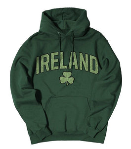 IRELAND SHAMROCK CHENILLE Men Hoodies Cara Craft