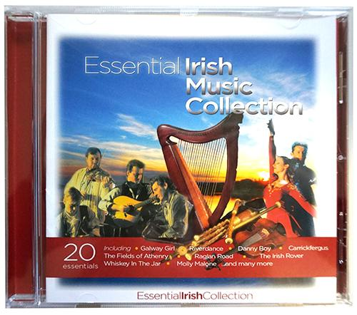 ESSENTIAL IRISH MUSIC CD/DVD Cara Craft