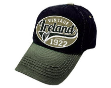 Load image into Gallery viewer, IRELAND VINTAGE 1922 CAPS/HATS Cara Craft OLIVE