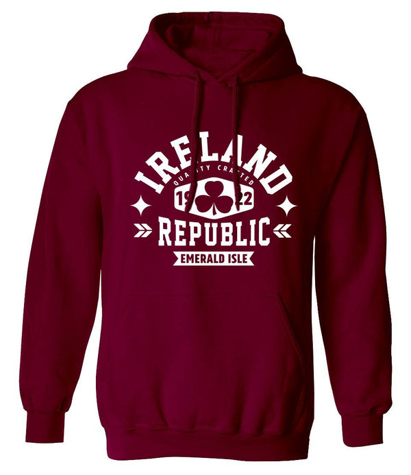 IRELAND REPUBLIC SHAMROCK Men Hoodies Cara Craft