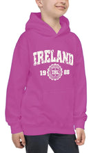 Load image into Gallery viewer, IRELAND APPAREL 88 Children Classic Hoodie Cara Craft 12 Pink
