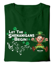 Load image into Gallery viewer, LET THE SHENANIGANS BEGIN Children Classic T-Shirt Cara Craft