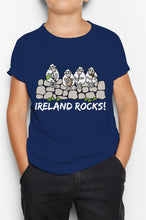 Load image into Gallery viewer, IRELAND ROCKS GROUP Children Classic T-Shirt Cara Craft 12 Navy