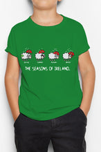 Load image into Gallery viewer, FOUR SEASONS LINE Children Classic T-Shirt Cara Craft 12 Green