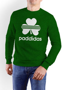 PADDIDAS Men Sweat Shirts Cara Craft XS Bottle Green