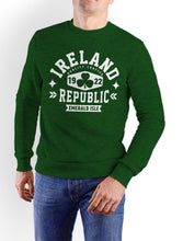 Load image into Gallery viewer, IRELAND REPUBLIC Men Sweat Shirts Cara Craft S Bottle Green