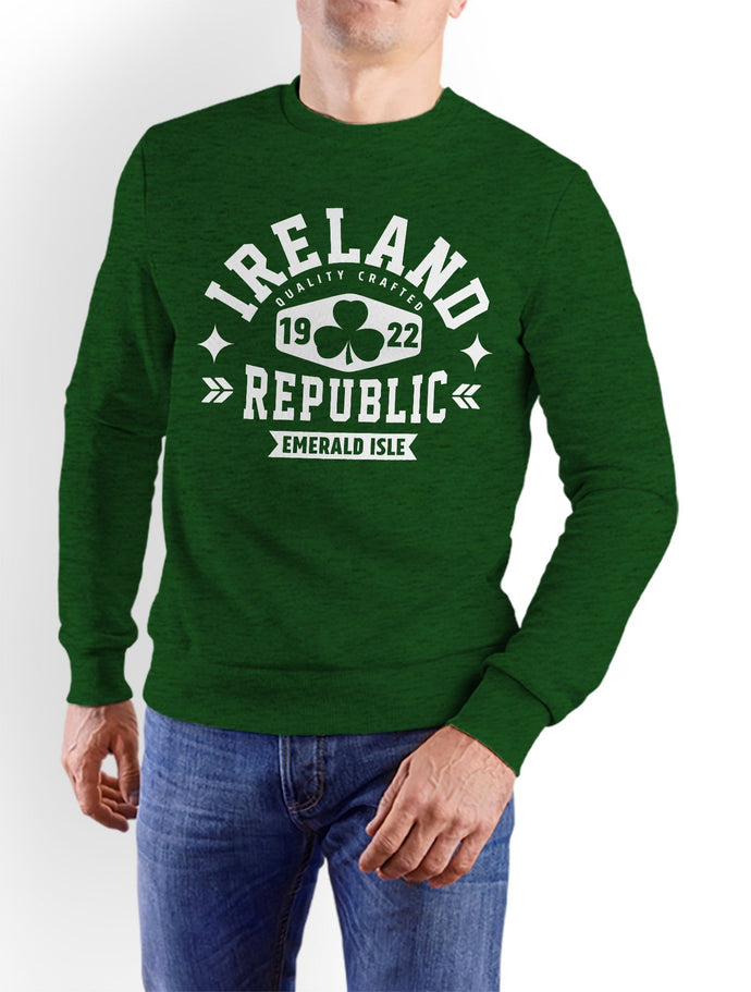 IRELAND REPUBLIC Men Sweat Shirts Cara Craft S Bottle Green