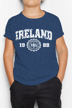 Load image into Gallery viewer, IRELAND APPAREL 88 Children Classic T-Shirt Cara Craft NAVY 3-4