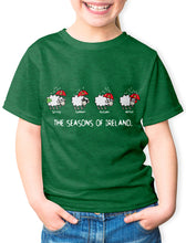 Load image into Gallery viewer, FOUR SEASONS LINE Children Classic T-Shirt Cara Craft GREEN 3-4