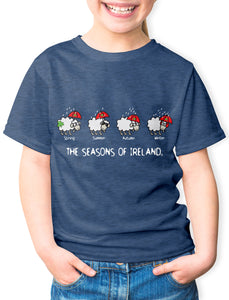 FOUR SEASONS LINE Children Classic T-Shirt Cara Craft NAVY 3-4