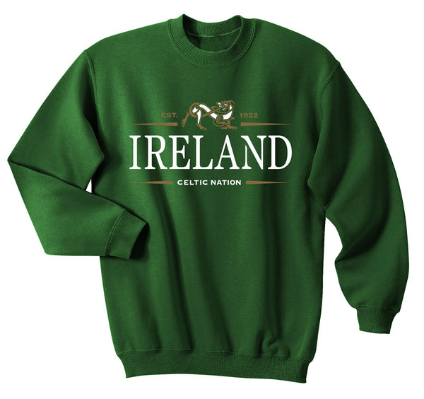 IRELAND CELTIC NATION V2, Men Sweat Shirts - seasonsofireland