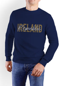 IRELAND GOLD SIGNATURE Men Sweat Shirts Cara Craft S NAVY