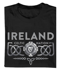 3D CELTIC PROVINCES Mens T-Shirts Cara Craft
