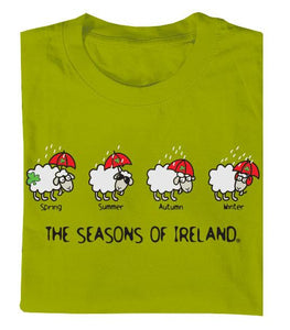 SEASONS OF IRELAND LINE Mens T-Shirts Cara Craft