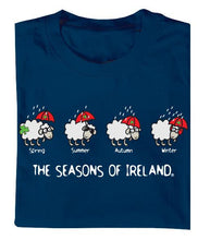 Load image into Gallery viewer, SEASONS OF IRELAND LINE Mens T-Shirts Cara Craft
