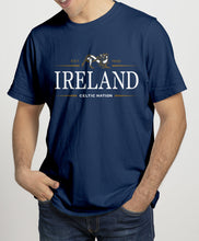 Load image into Gallery viewer, IRELAND CELTIC NATION V2 Mens T-Shirts Cara Craft S NAVY