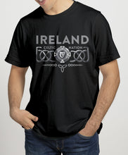 Load image into Gallery viewer, 3D CELTIC PROVINCES Mens T-Shirts Cara Craft S BLACK