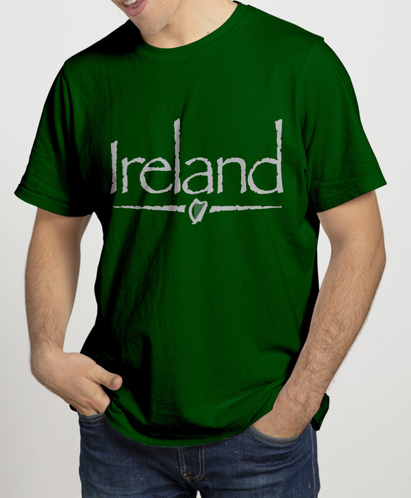 IRELAND BAR Mens T-Shirts Cara Craft S BOTTLE GREEN