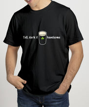 Load image into Gallery viewer, TALL, DARK & HANDSOME Mens T-Shirts Cara Craft S BLACK