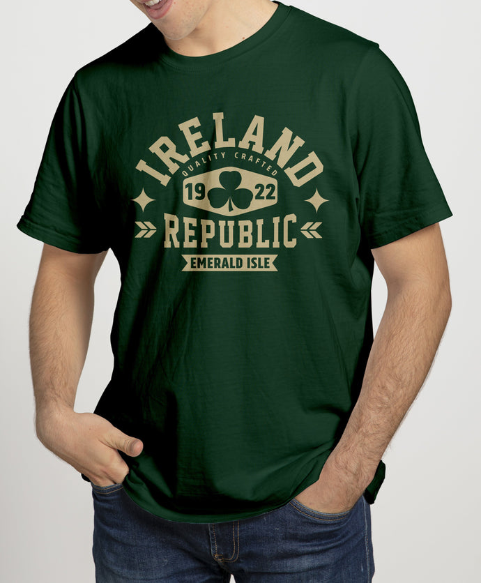 IRELAND REPUBLIC Mens T-Shirts Cara Craft S Bottle