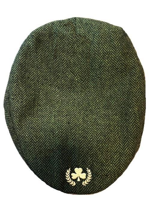 Tweeted Flat Caps Hats Cara Craft Green
