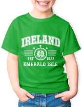 Load image into Gallery viewer, EMERALD ISLE Children Classic T-Shirt Cara Craft 3-4 Kelly Green