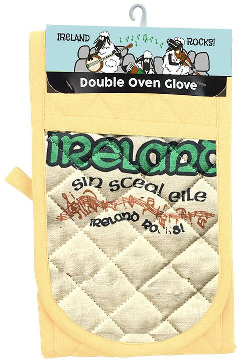 IRELAND ROCKS OVEN GLOVES Cara Craft