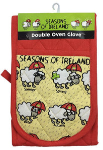 SEASONS SHEEP OVEN GLOVES Cara Craft