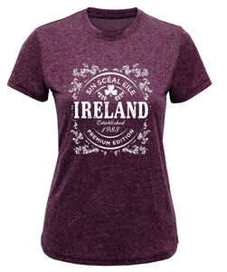 IRELAND GOLD Ladies T-Shirts Cara Craft