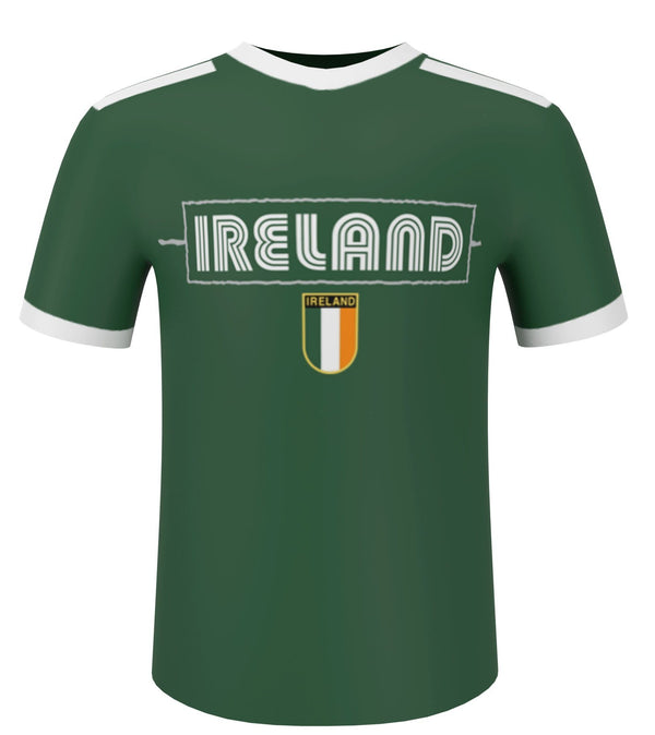 IRELAND BLIPPO SHIELD Ladies T-Shirts Cara Craft