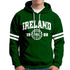 IRELAND APPAREL 88 Men Hoodies Cara Craft S BOTTLE GREEN