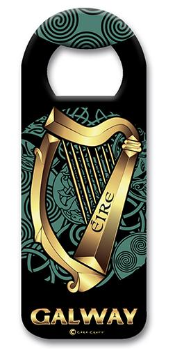 CELTIC HARP GALWAY Magnet Cara Craft