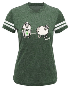 SHEEP KNITTING Ladies T-Shirts Cara Craft