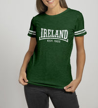 Load image into Gallery viewer, DALE IRELAND 1922 Ladies T-Shirts Cara Craft S BOTTLE GREEN