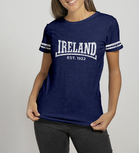 DALE IRELAND 1922 Ladies T-Shirts Cara Craft S NAVY