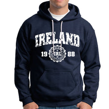 Load image into Gallery viewer, IRELAND APPAREL 88 Men Hoodies Cara Craft XS NAVY
