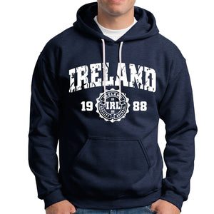 IRELAND APPAREL 88 Men Hoodies Cara Craft XS NAVY