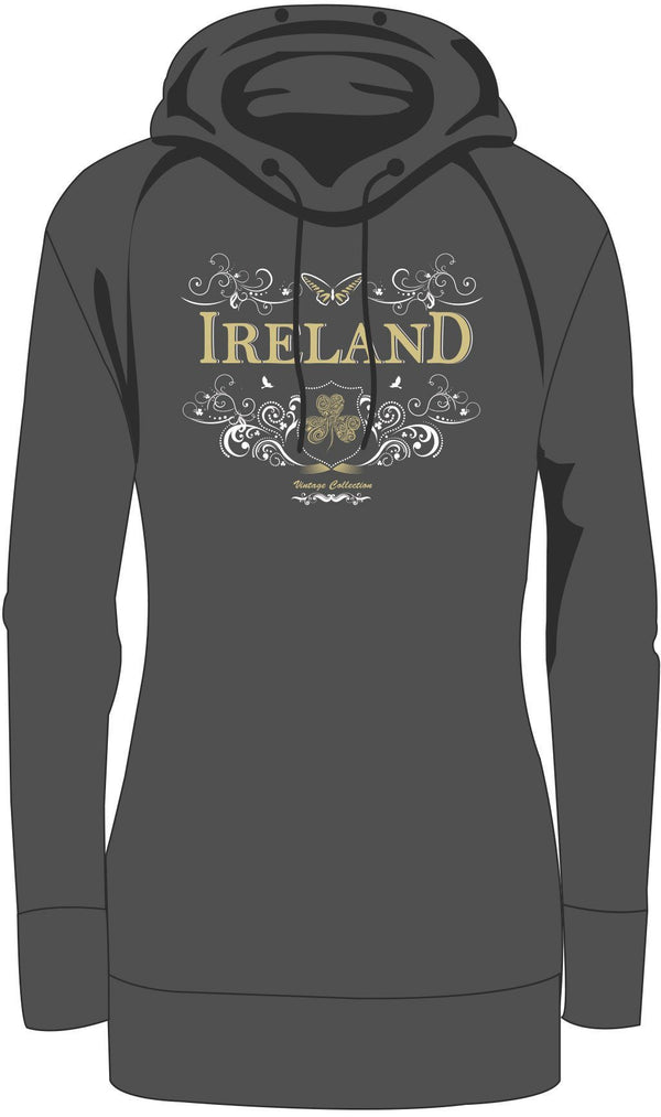 Ladies Roll Neck Hoodies, Ladies Roll Neck Hoodies - seasonsofireland