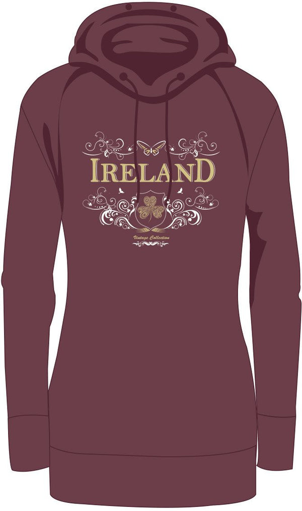 IRELAND ORNATE BUTTERFLY LADIES HOODIES Cara Craft