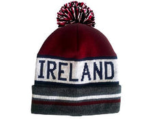 Load image into Gallery viewer, IRELAND TEXT CAPS/HATS Cara Craft BURGUNDY