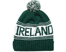 Load image into Gallery viewer, IRELAND TEXT CAPS/HATS Cara Craft BOTTLE GREEN