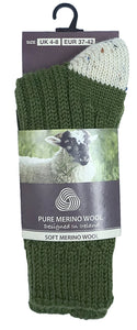 MERINO WOOL MEN SOCKS Socks Cara Craft Lime