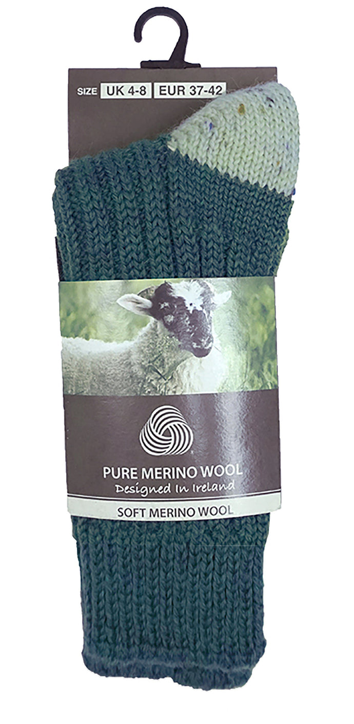 MERINO WOOL MEN SOCKS Socks Cara Craft TURQUOISE