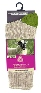 MERINO WOOL WOMEN SOCKS Glenrua Merino Socks Cara Craft ECREW