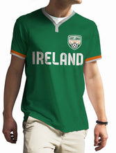 Load image into Gallery viewer, IRELAND CREST Mens T-Shirts Cara Craft S GREEN