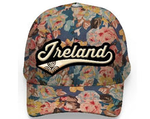 Load image into Gallery viewer, IRELAND LEAGUE FLORAL CAPS/HATS Cara Craft